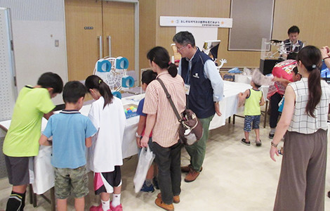 """Science Yataimura"" held by Otsu City Science Museum"
